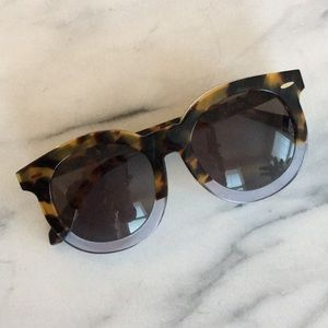 Karen Walker 'Super Duper Thistle' Sunglasses